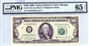 2173-G (GA Block), $100 Federal Reserve Note Chicago, 1990