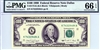 2173-K (KA Block), $100 Federal Reserve Note Dallas, 1990