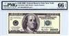 2180-B* (HB* Block), $100 Federal Reserve Note New York, 2006