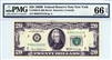 2069-B (BB Block), $20 Federal Reserve Note New York, 1969B