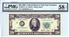 2075-L (LC Block), $20 Federal Reserve Note San Francisco, 1985B