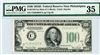 2156-Cm Mule, $100 Federal Reserve Note Philadelphia, 1934D