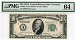 2001-D (DA Block), $10 Federal Reserve Note Cleveland, 1928A