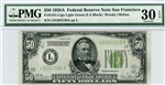 2101-Llgs Light Green, $50 Federal Reserve Note San Francisco, 1928A