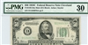 2105-Dm Mule, $50 Federal Reserve Note Cleveland, 1934C