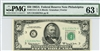 2113-C, $50 Federal Reserve Note Philadelphia, 1963A