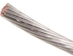 12 AWG FLEX-Weave Bare Tinned Annealed Copper Strands 200 FT