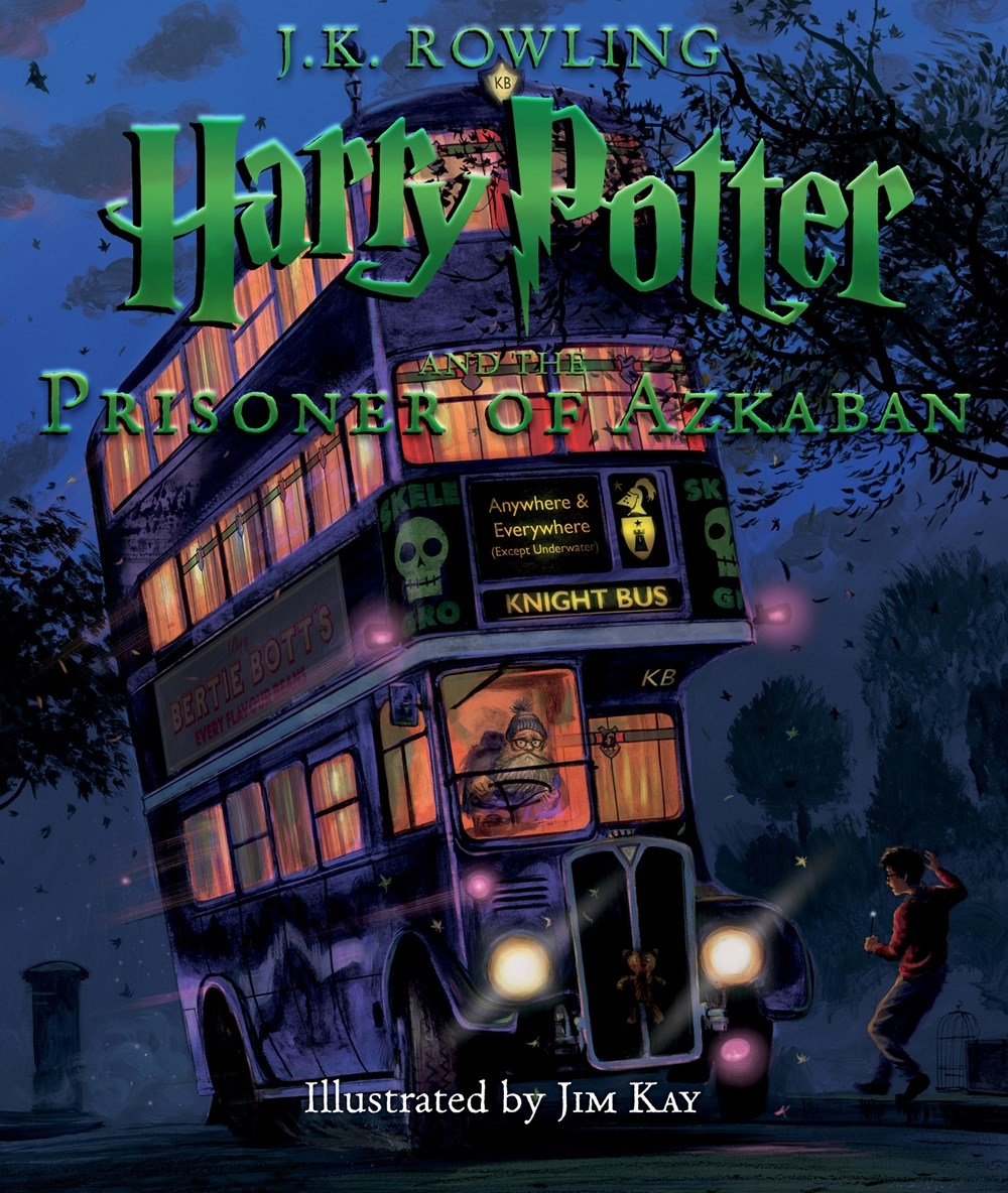 Harry Potter #3: Illustrated Edition by J. K. Rowling Illustrated ...