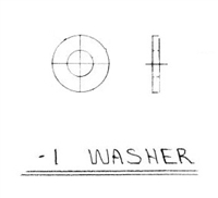 WASHER S/0