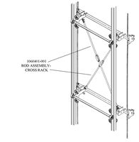 ROD ASSEMBLY- CROSS RACK
