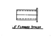 FLANGED SPACER  ZIPPER