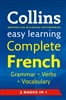 Collins easy learning Complete French Grammar Verbs Vocabulary
