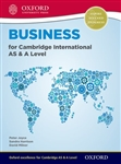 Business for Cambridge International AS and A Level Student Book