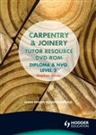 CARPENTRY AND JOINERY Tutor Resource DVD ROM Diploma and NVQ Level 2