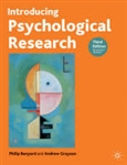 Introducing Psychological Research (3rd Revised edition)