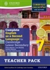 Complete English as a Second Language for Cambridge Lower Secondary Stage 7 Teacher Resource Pack