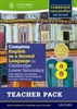 Complete English as a Second Language for Cambridge Lower Secondary Stage 8 Teacher Resource Pack