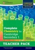 Complete Chemistry for Cambridge Lower Secondary Stage 8 Teacher Pack