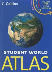 Student World Atlas with Factfile CD (Collins) Hardvcover