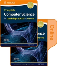 Complete Computer Science for Cambridge IGCSE and O Level Student book - Bundle