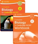 Complete Biology for Cambridge IGCSE THIRD EDITION Student book and Workbook PACK
