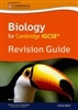 Biology for Cambridge IGCSE Revision Guide (Oxford)