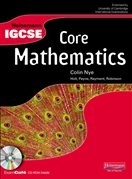 Heinemann IGCSE Core Mathematics Student Book with Exam Café CD