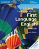 Cambridge IGCSE First Language English Coursebook (4th Edition)
