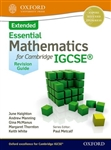 Essential Mathematics for Cambridge IGCSE Extended Revision guide
