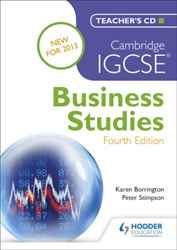 Cambridge IGCSE Business Studies Teachers CD FOURTH Edition