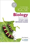 Cambridge IGCSE Biology Study and Revision Guide (2nd Edition)