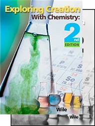 Exploring Creation with Chemistry (2 Book Set)