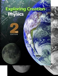 Apologia Physics 2nd Ed. Exploring Creation with 2-Book Set