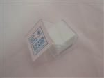 Microscope glass slide cover slips