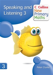 Collins New Primary Maths Speaking and Listening 3