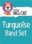 Collins Big Cat (Band 07) Turquoise Starter Set (14 books)