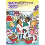 Collins Primary Focus Handwriting Workbook 4