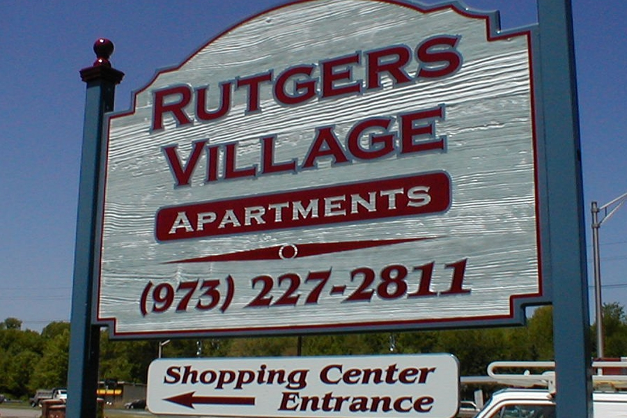 Sandblasted signs in New Jersey - by Signs for today