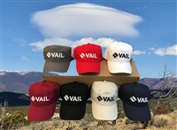 RAISED VAIL LOGO HAT