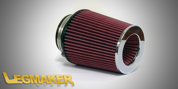 "Air Filter 7"", Red"