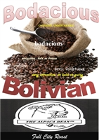 Bodacious Bolivian Gnd Full City Roast 12 oz