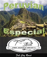 Peruvian Especial Full City Roast GND 12 oz