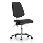 Perch Class 100 Cleanroom Chair with Large Back