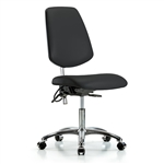 Perch ESD / Cleanroom Chair Large Back