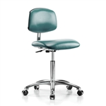 Perch Cleanroom Vinyl Chair