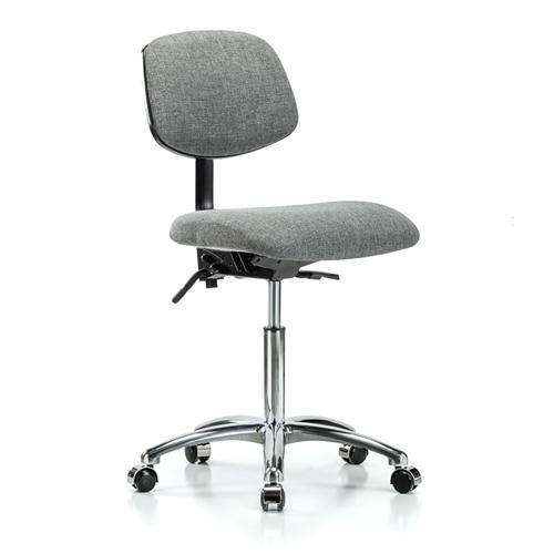 Perch Chrome Laboratory Chair