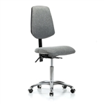 Perch Chrome Lab Chair Large Back