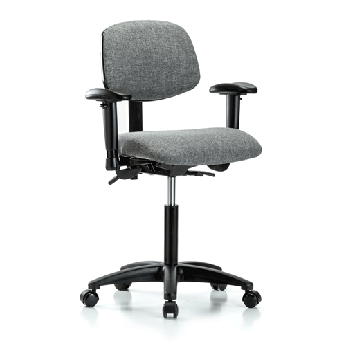 Amazing Perch Multi Task Office Chair With Adjustable Armrests Spiritservingveterans Wood Chair Design Ideas Spiritservingveteransorg