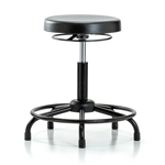 Perch Polyurethane Lab Work Stool