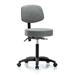 Perch Walter Doctor Stool with Back